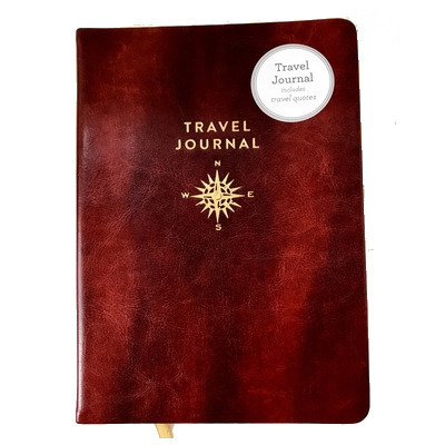 TRAVEL JOURNAL WITH QUOTES