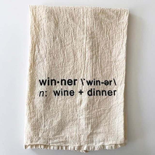 Who doesn't want to be a #winner 🍷🍴