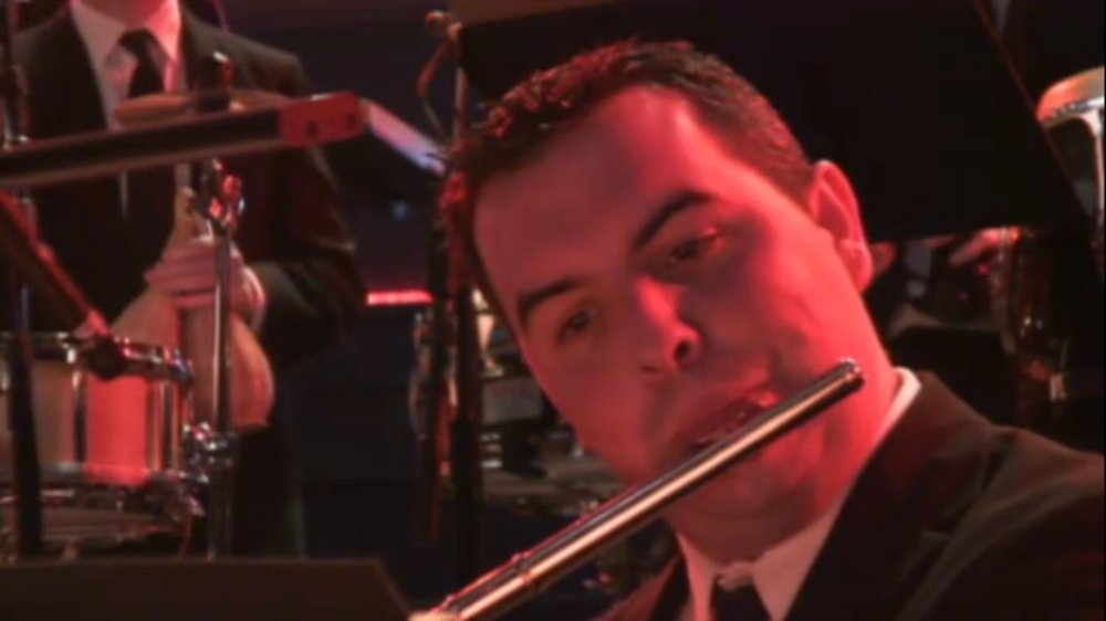 Screen grab from 2011 Late Night Prom with Jamie Cullum & The Heritage Orchestra