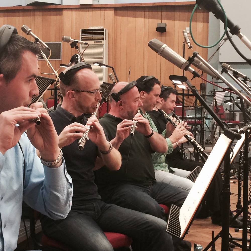 Recording Session in Abbey Road