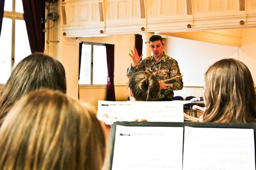 Directing Flute Ensemble