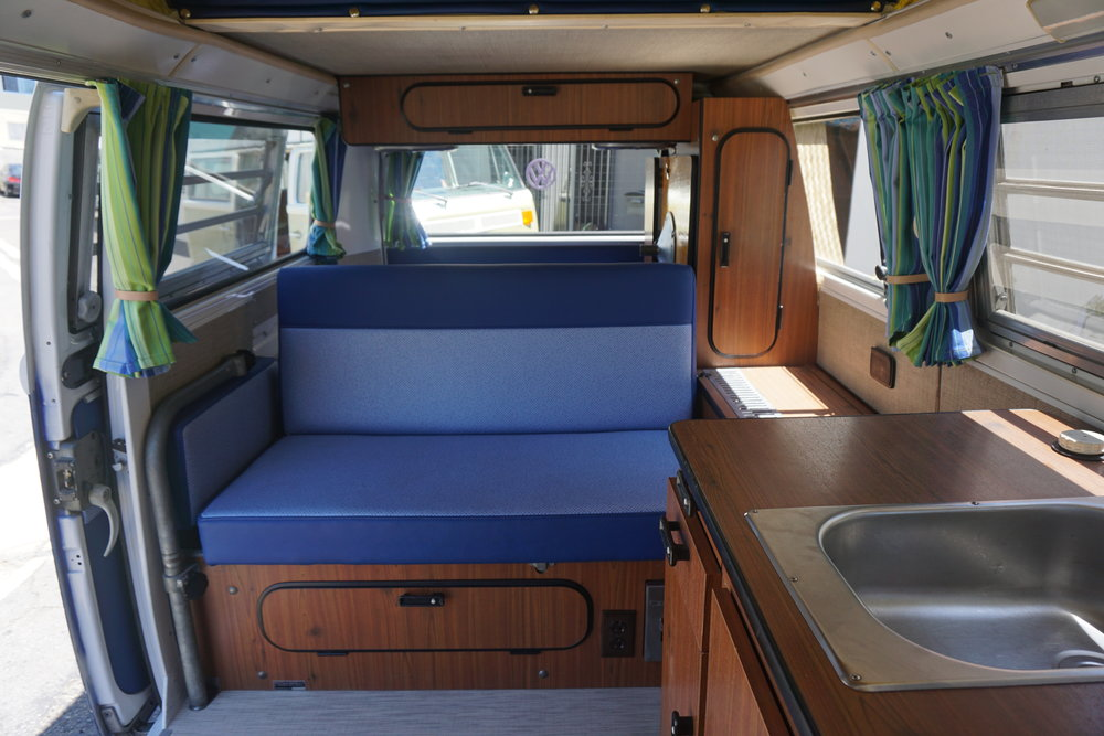 Example :: Westfalia Camper Interior [with a Vintage Surfari spin]