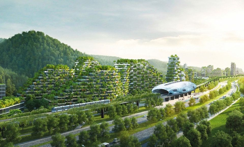 China is Building the World's First Vertical Forest City - My Modern Met