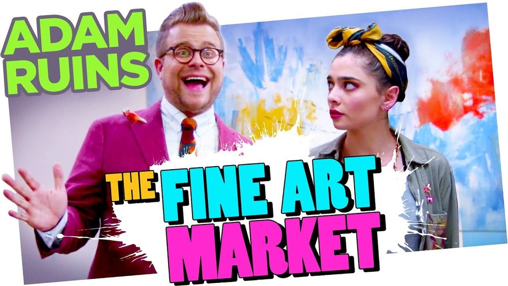 Is the Fine Art Market a Scam? - CollegeHumor