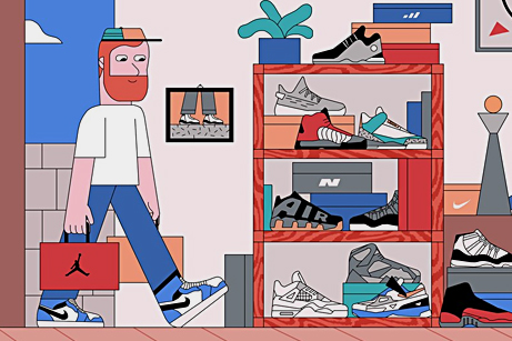 Growing Up and Developing a Sneaker Addiction - GQ