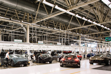 Inside the Aston Martin Factory - The Verge