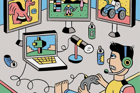 How to Get Rich Playing Video Games Online - The New Yorker