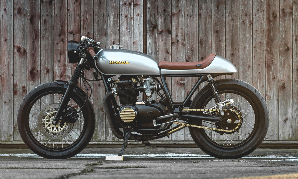 Kaspeed Custom Motorcycles Honda CB500 Four Cafe Racer