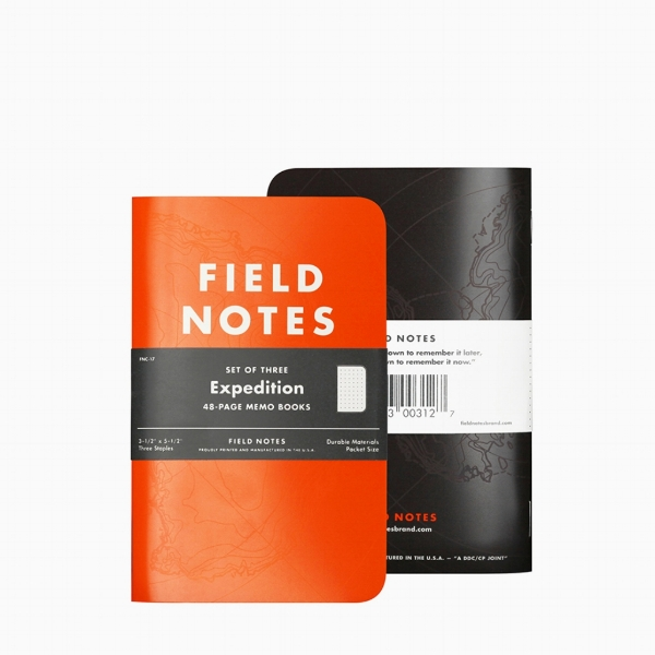 - The Notebook: the brand you know and trust, Field Notes brings the Expedition notebook which is printed on Yupo Synthetic paper, an amazing water- and tear-proof paper along with a hi-visibility orange cover and featuring dot-grid graph paper. This book will probably outlast you. The Laptop Sleeve: the Incase Compact Sleeve's design complements the new MacBook Pro, while its faux-fur lining helps prevent scratches and bumps. The Compact Sleeve features Flight Nylon material that is lightweight and closely woven for a smooth finish (and it will wick water away). Pick a neutral colour to compliment the rest of your new gear.