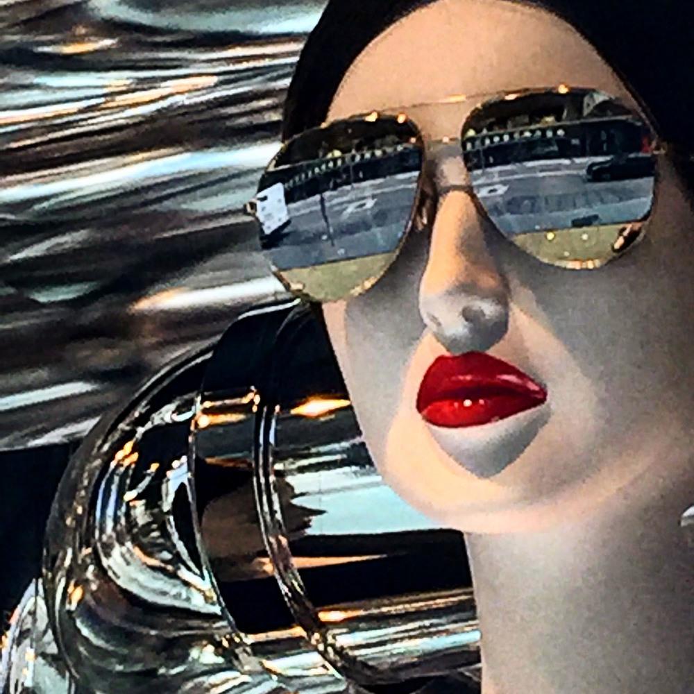 Robertha Reflecting in Shades