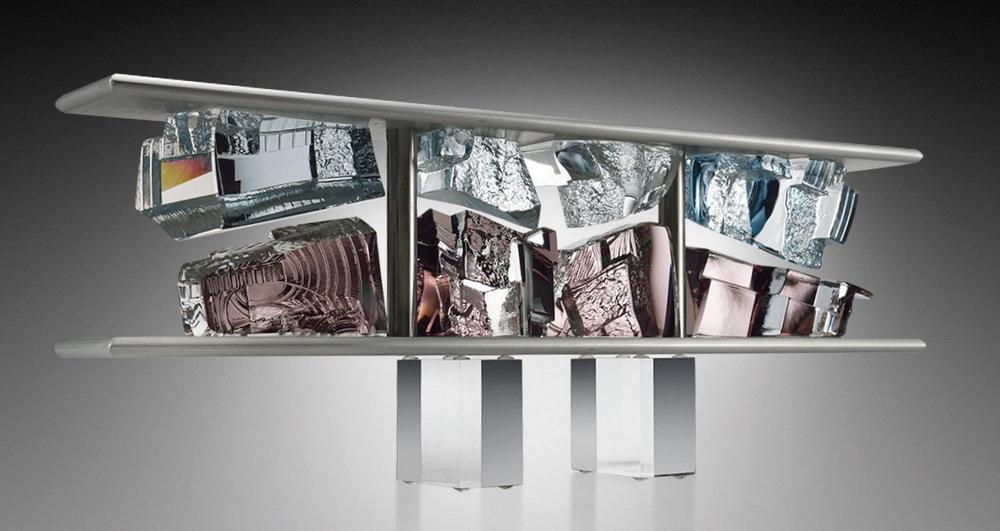 ACHITECHTONIC SHIFT,  20 x 3 x 5.75 inches,