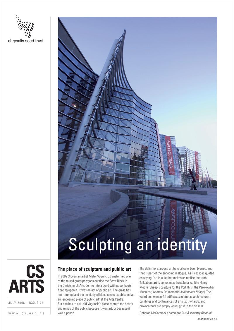 Chrysalis Seed Arts magazine - art direction and design