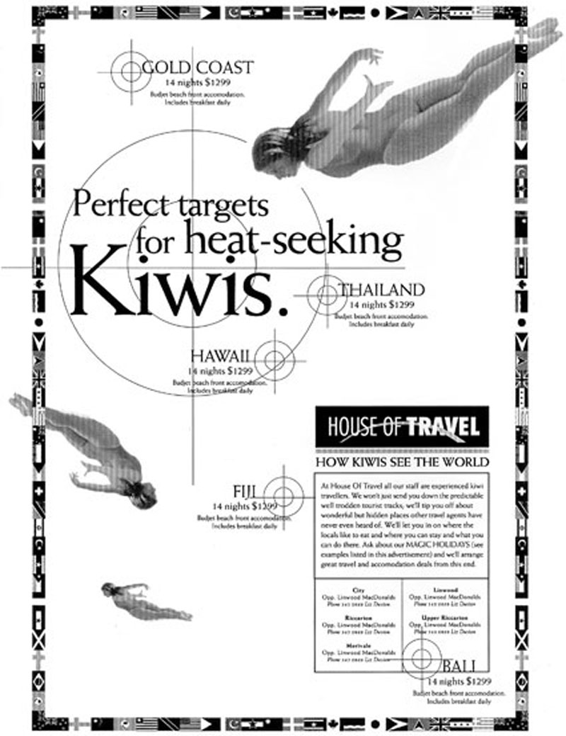 House of Travel – press campaign 3 of 3