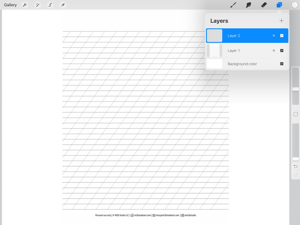 Click to add a new layer. Letter in the new layer instead of directly onto the guide. This way you will export a layer of your lettering or drawing with a transparent background. You can simply delete the guide layer.