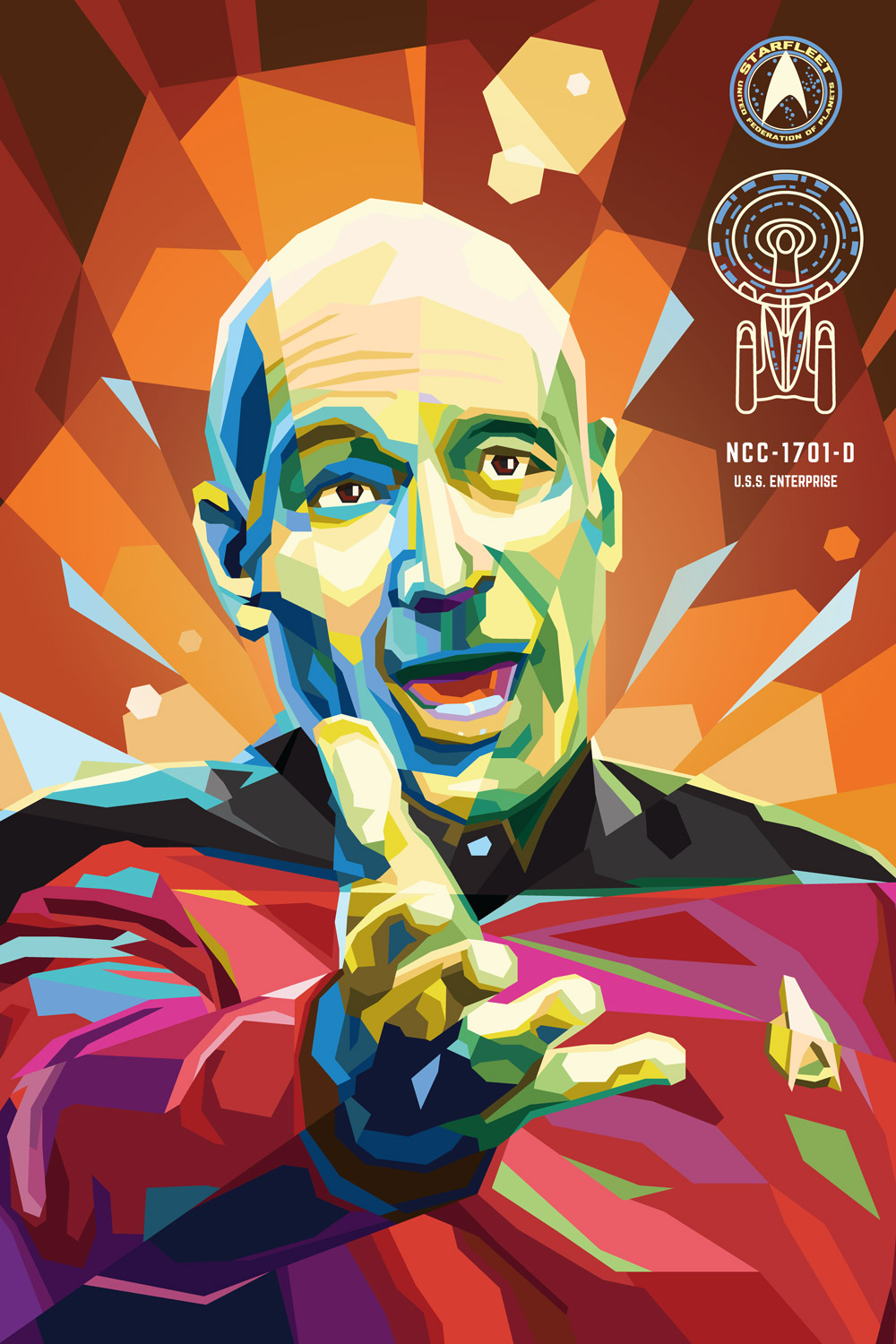 """Captain Jean-Luc Picard — """"What the F***!?"""""""