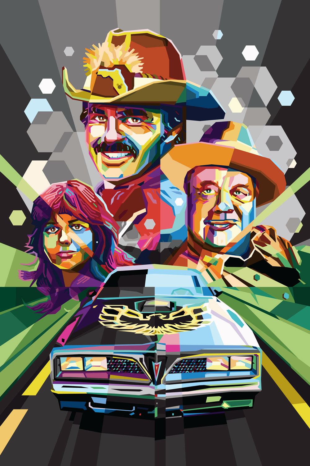 Smokey and the Bandit - One of the greatest Southern documentaries ever made, Smokey and the Bandit is the story of man's desire to deliver cheap beer really fast. Truly one of the greatest chase movies ever made — watched it recently and it still holds up. Starring the late Burt Reynolds, Sally Field, Jackie Gleason (as the tenacious Sheriff Buford T. Justice), and one of the most recognizable cars ever to grace the silver screen; the Pontiac Firebird Trans Am.