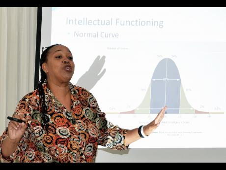 Clinical Psychologist and Special Educator, Jamaica Association on Intellectual Disabilities, Dr. Avril Daley.