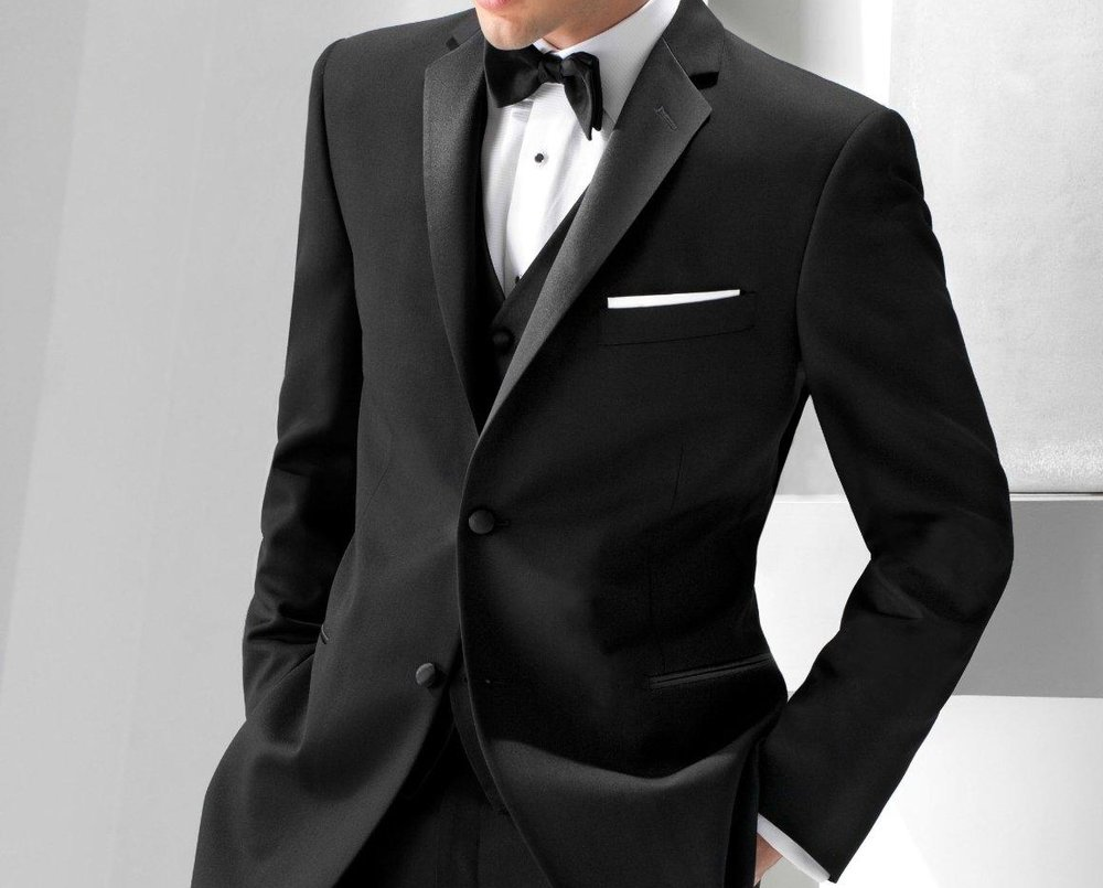 black tuxedo suits for men from Ike Behar.jpg