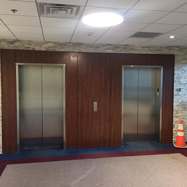 200 E. State Street Media Real Estate Medical Building lobby and bathroom renovations update