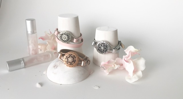 essential oil wrap bracelets - get 'wrapped up' in our beautifully stylish diffuser wrap bracelets. elegant and classy. style it your way. choose your favourite style locket and then pair it with your choice of colour wrap band. add a few drops of essential oils to set your mood or 'the mood' on the felt pad provided, breathe deeply and voila…enjoy the therapeutic & aromatic benefits all day!whether you enjoy a splash of colour or tend to stick with softer tones, we are certain that you will find a colour band to suit your style. Add a sparkly rhinestone wrap or perhaps an intention holder paired with an intention charm to accentuate your beautiful arm candy.