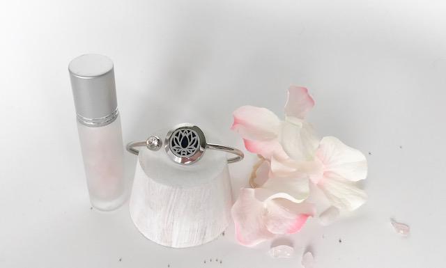 Bloom (Lotus) essential oil bangle