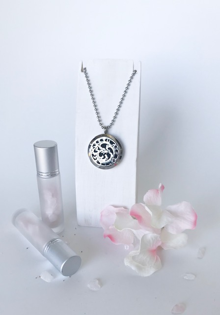 FIRE BREATHING DRAGON essential oil diffusing necklace