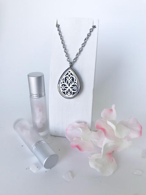 'DROPS OF JOY' essential oil necklace