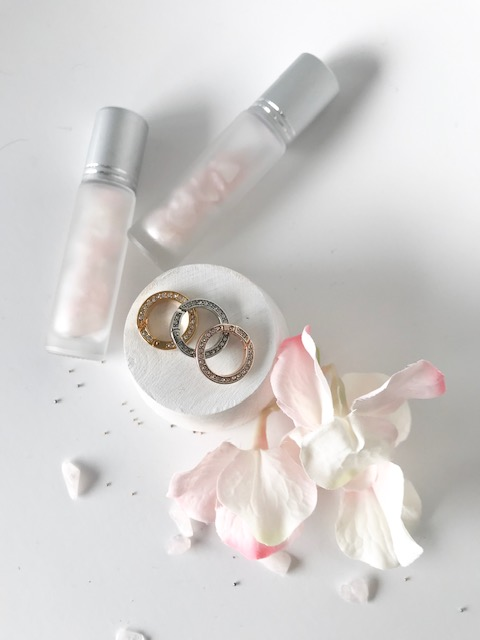 'sparkle' intention charm holder