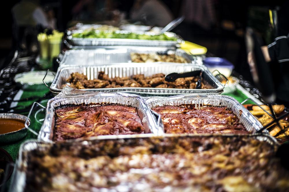 SuperBowl Party Food Servings