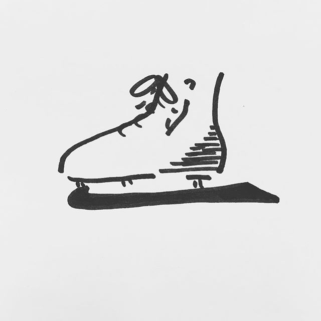 — sv91. | #iceskate #olympics #yamaguchi #harding #scribble #sharpie #sketch