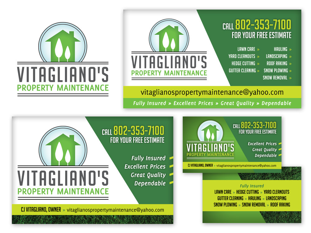 Logo, Business Card, Vehicle Magnet, Lawn Sign