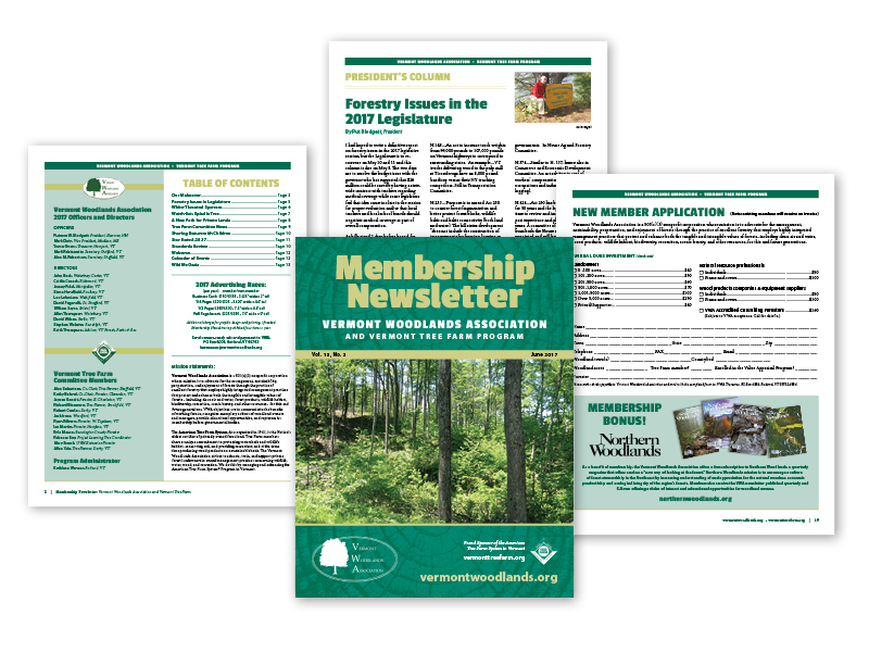 20-page Membership Newsletter