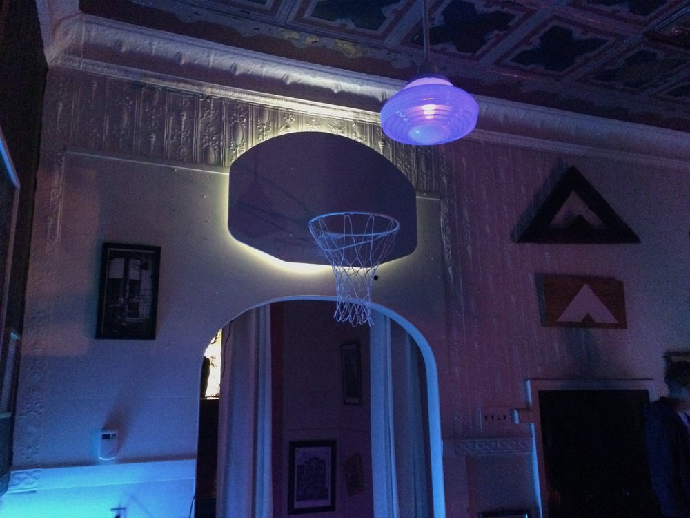 NIGHT BASKETBALL  IT'S A NEW THING