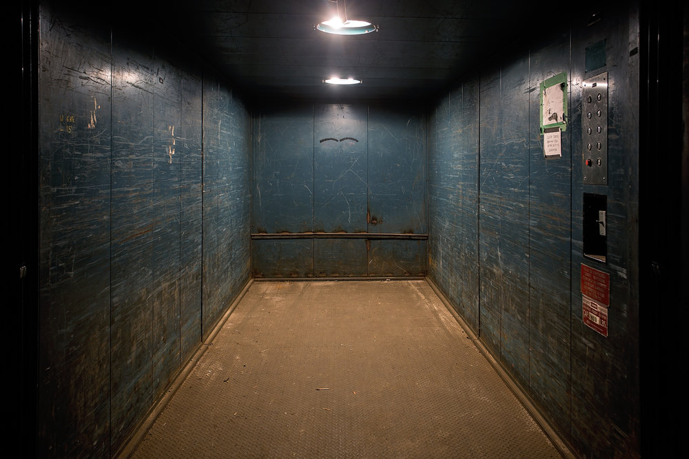 16 FOOT FREIGHT ELEVATOR