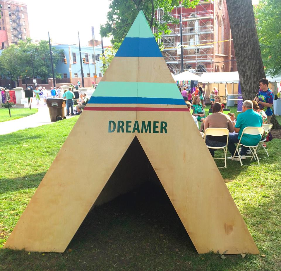 Dreamer TeePee  Community Art Piece