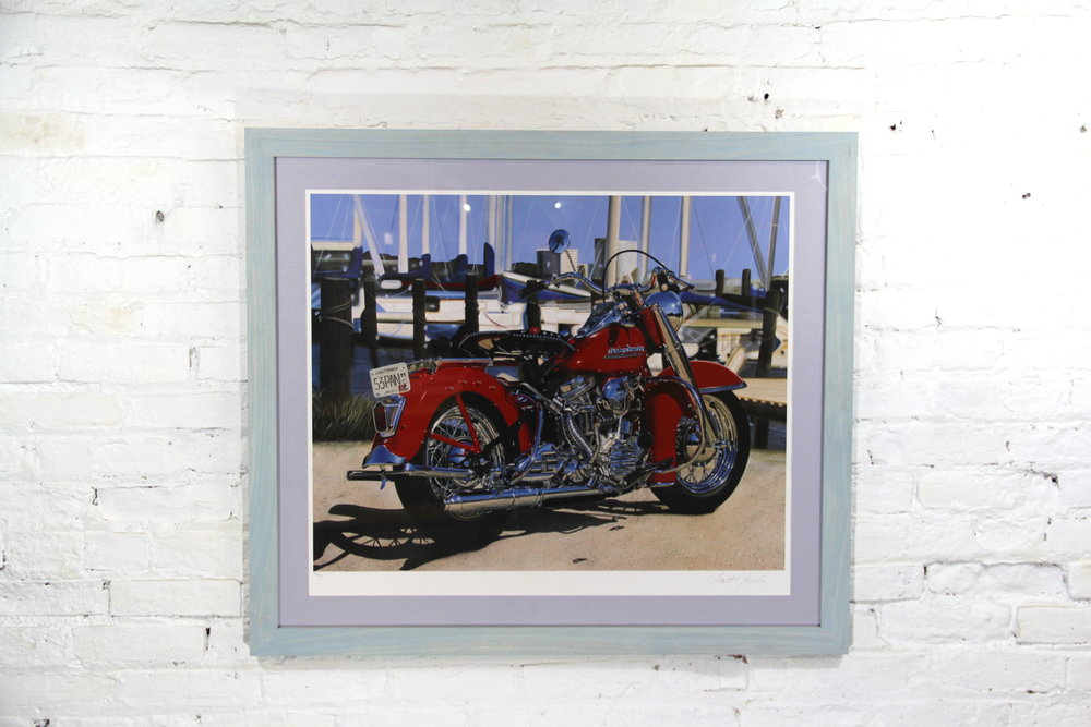 Custom Pigment Stained Frame