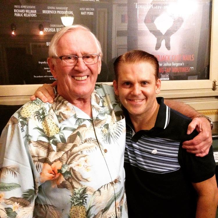 Len Cariou with Robert Creighton