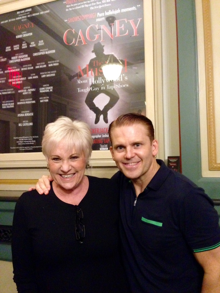 Lorna Luft with Robert Creighton