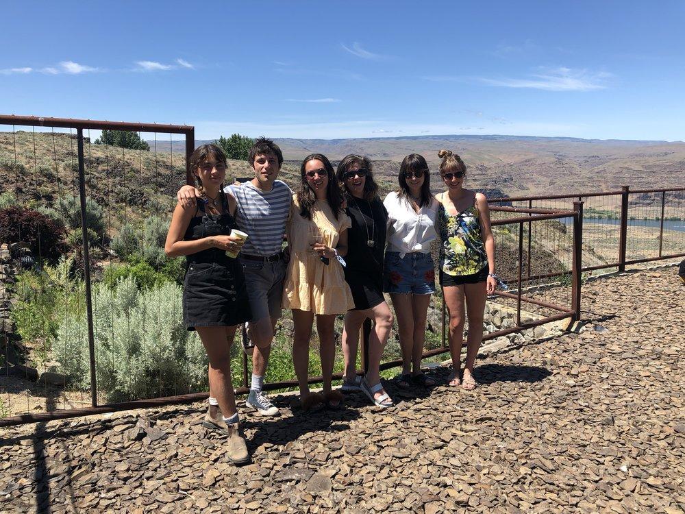 The Team: Hannah, Gabe, Noah, Lynn, Me, Heather