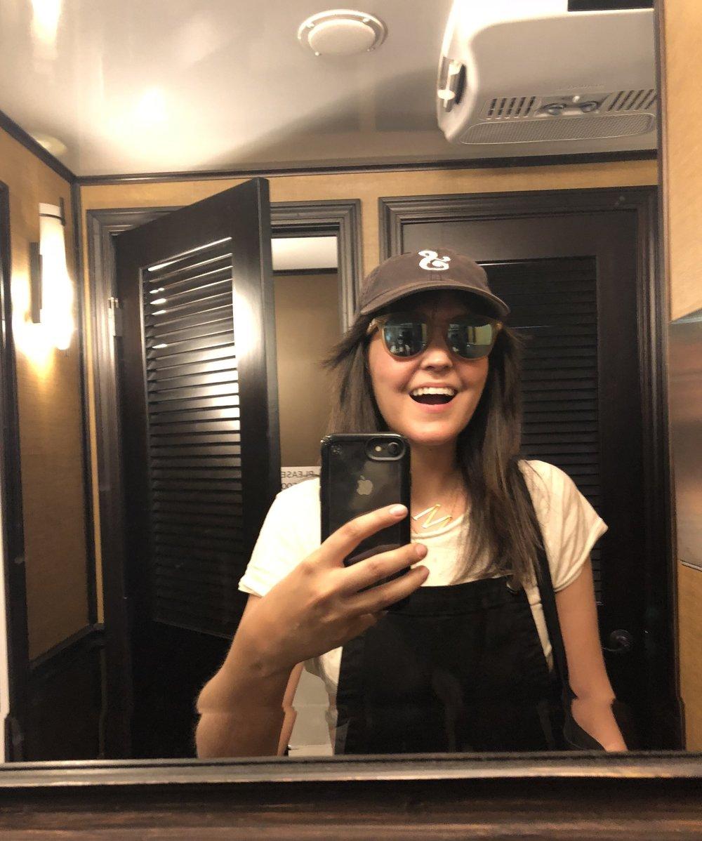 Annual Obligatory Fancy Bathroom Selfie