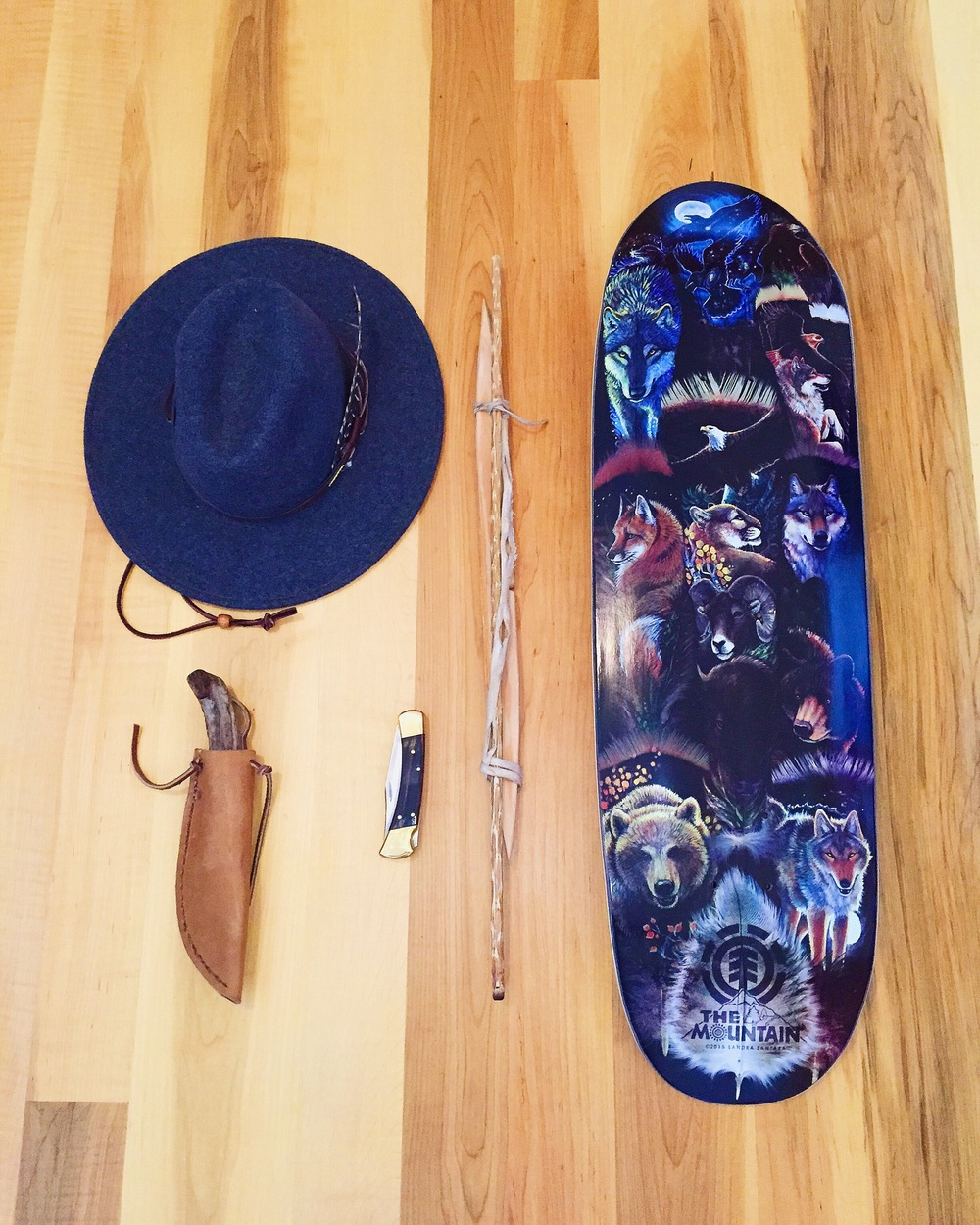 Packing for element skate camp