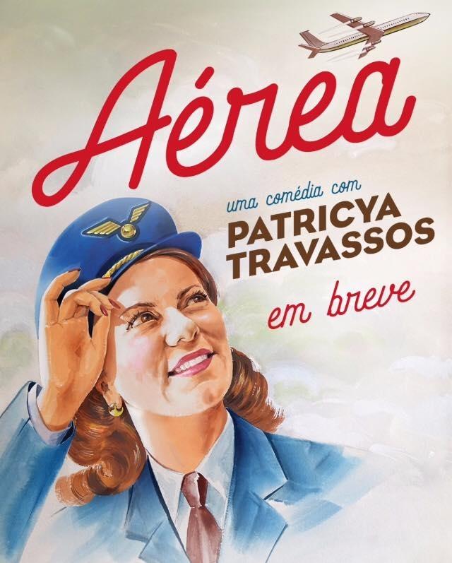 """Vem aí: """"Aérea"""" - Acompanhe @aerea_noteatro"""