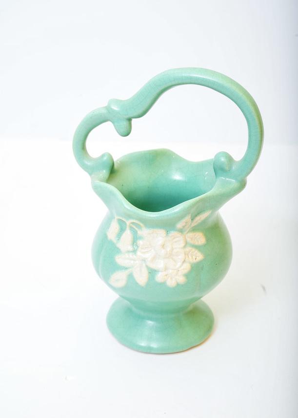 1930s Weller Pottery Vase Under Grandmas Stairs