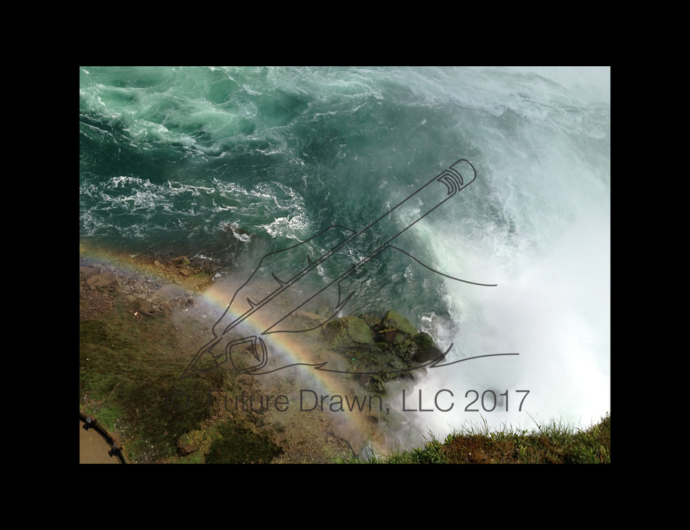 Rianbow at the base of Niagara Falls Future Drawn 2017.jpg