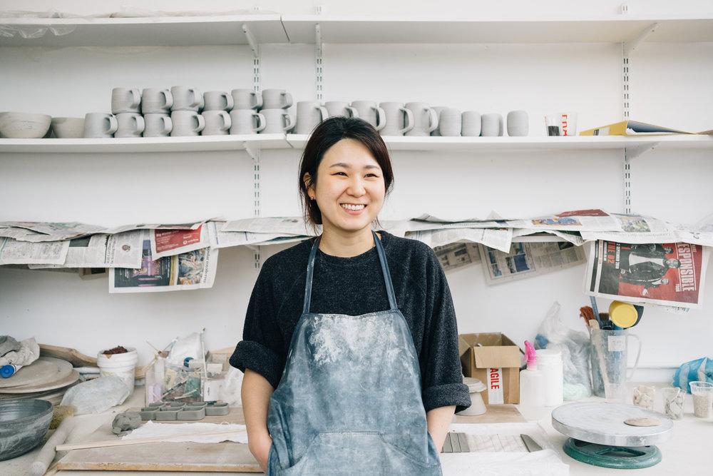 Eunmi Kim Pottery -