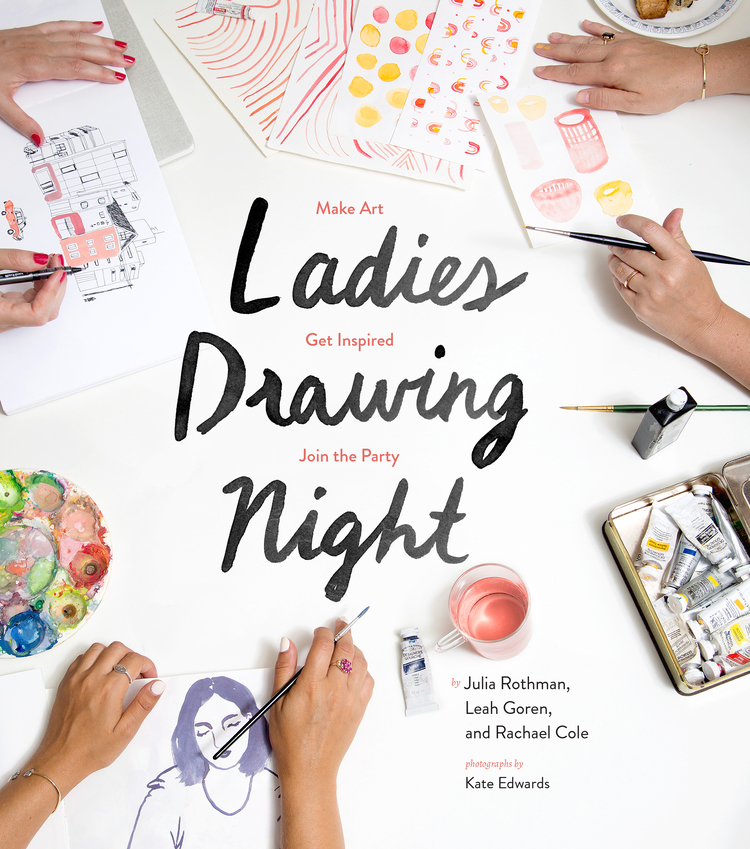 Ladies Drawing Night Leah Reena Goren
