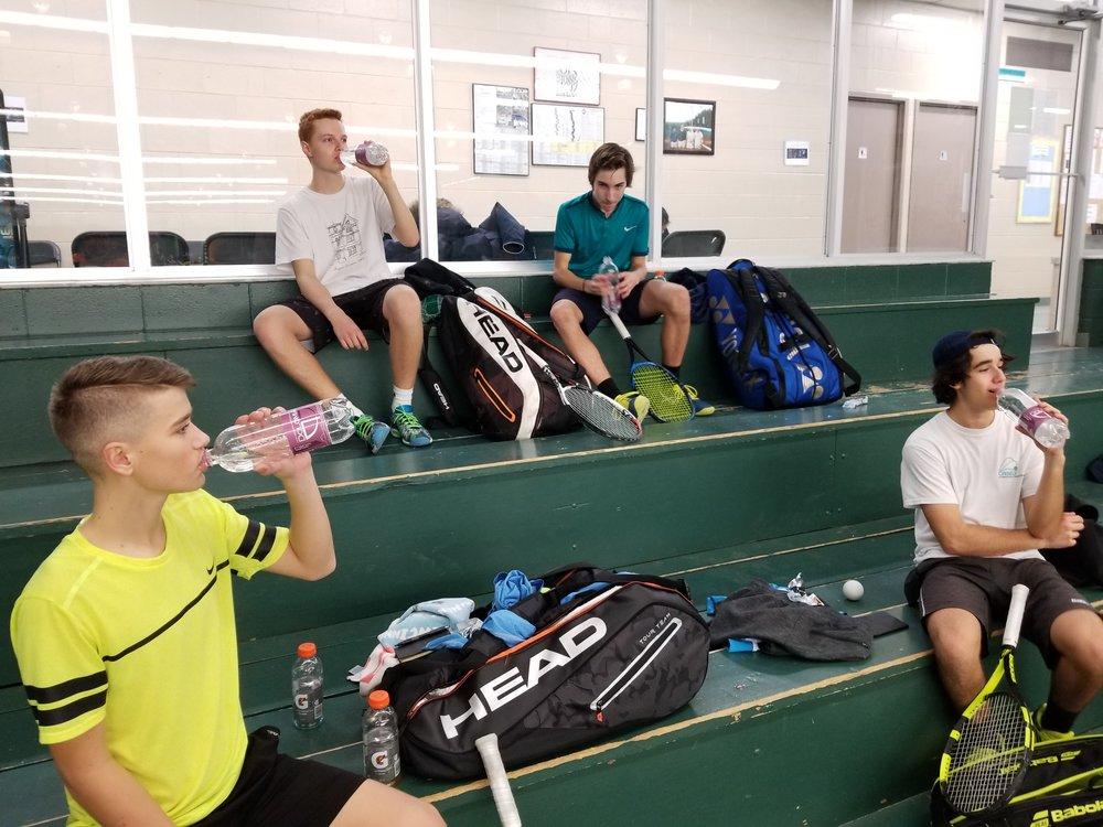 Young Aspiring Pro Tennis players