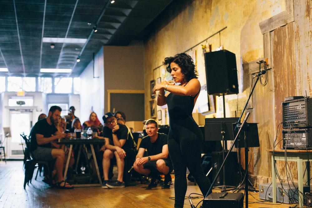 Photo: Liv Swant-Johnson Dreyfest VI, 2018, Craft Local Poetry Jam