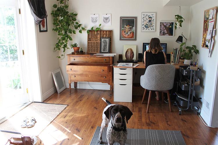 Studio Visit with Jori Van der Linde — Sarah clement