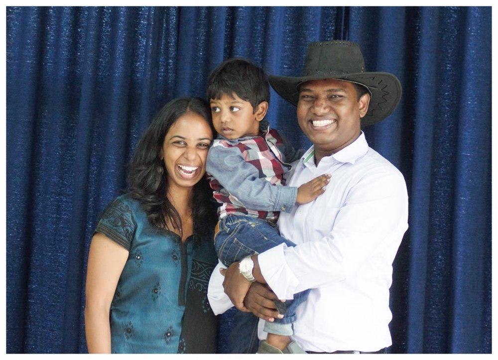 Pastor Raja Manohar and His Wife Hima Bindu